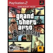 Grand Theft Auto San Andreas GTA PS2 Original Usado NTSC USA