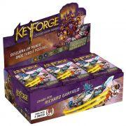 Keyforge Colisão entre Mundos Display 12 Decks em português Jogo de Cartas Galapagos KFG005