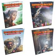 Kit Dungeons & Dragons Aventuras para 5a Edição 4 Livros Galapagos