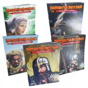 Kit Dungeons & Dragons Aventuras para 5a Edição 5 Livros Galapagos