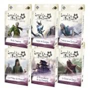 Kit Legend of the Five Rings Ciclo da Herança 6 expansões de Jogo de Cartas Galapagos