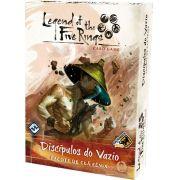 Legend of the Five Rings Discipulos do Vazio Pacote de Clã Fênix Jogo de Cartas Galapagos L5R008