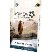 Legend of the Five Rings Elementos Libertos Pacote de Dinastia Ciclo Elemental Jogo de Cartas Galapagos L5R014
