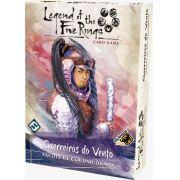 Legend of the Five Rings Guerreiros do Vento Pacote de Clã Unicornio Jogo de Cartas Galapagos L5R017