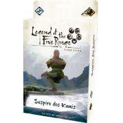 Legend of the Five Rings Suspiro de Kamis Pacote de Dinastia Ciclo Elemental Jogo de Cartas Galapagos L5R009