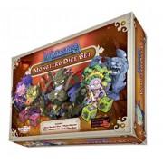 Masmorra Dungeons of Arcadia Monster Dice Set Expansão de Jogo de Tabuleiro Conclave