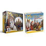 Merlin + Expansão Arthur Jogo de Tabuleiro Calamity Games