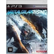 Metal Gear Rising Revengeance Ps3 Lacrado Original
