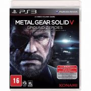 Metal Gear Solid V Ground Zeroes Ps3 Original Usado
