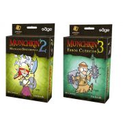 Munchkin 2 + Munchkin 3 Expansão de Jogo Galapagos MUN002 e MUN003