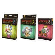 Munchkin 2 + Munchkin 3 + Munchkin 8 Expansões de Jogo Galapagos