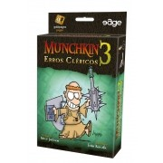 Munchkin 3 Erros Clericos Galapagos MUN003