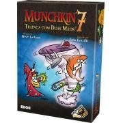 Munchkin 7 Trapaça com duas mãos Expansão de Jogo de Cartas Galapagos MUN007
