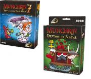 Munchkin Destrói O Natal + Munchkin 7 Expansões Galapagos