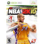 NBA 2K10 Xbox 360 Original Usado