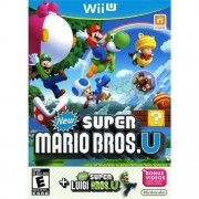 New Super Mario Bros U + New Super Luigi Wii-U Original Usado