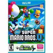 New Super Mario U + Super Luigi Nintendo Wii-U Original Novo