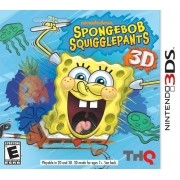 Nicklodeon Sponge Bob - Squigglepants 3DS Original Usado
