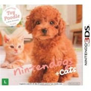 Nintendogs + Cats - Toy Poodle 3DS Original Usado