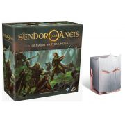 O Senhor dos Anéis Jornadas na Terra Média Jogo de Tabuleiro Galapagos JME001 + Porta Cards Knight Brinde