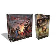 Os Reinos de Drunagor + Reinos Ancestrais Jogo de Tabuleiro Histeria Games