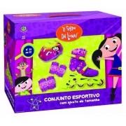 Patins Inline Conjunto Esportivo Show Da Luna 29 ao 32 - Dtc3900