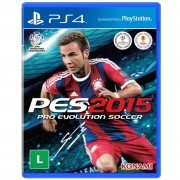 PES 15 Playstation 4 Original Usado