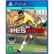 Pes 18 Playstation 4 Original Usado