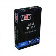 Word Pif Paf das Palavras Jogo de Cartas em inglês BOC Box of Cards