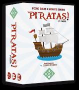Piratas! + Expansão Navegar é Preciso Jogo de Cartas Geeks'N Orcs