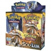 Pokemon Booster Sol e Lua Caixa Master com 36un. Copag