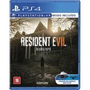 Resident Evil 7 Modo VR incluido Playstation 4 Original Usado