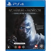 Shadow of Mordor Game of the Year Edition PS4 Lacrado