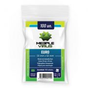 Shields Sleeves Euro 59 X 92mm Meeple Virus 100 unidades