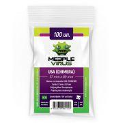 Shields Sleeves USA Chimera 57 X 89mm Meeple Virus 100 unidades