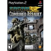 SOCOM US Navy Seals Combined Assault PS2 Original Usado NTSC USA