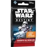 Star Wars Destiny Booster 5 cartas + dado Expansão Espirito da Rebelião Galapagos SWD004