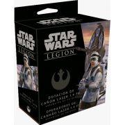Star Wars Legion Operadores de Canhão Laser 1.4 FD Expansão de Unidade Galapagos SWL014