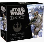 Star Wars Legion Veteranos Rebeldes Expansão de Unidade Galapagos SWL039