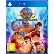 Street Fighter 30th Anniversary Collection Playstation 4 Original Usado