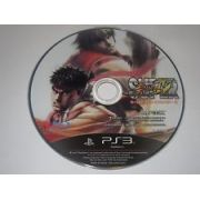 Street Fighter 4 só a mídia Playstation 3 Original Usado