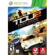 TDU2 Test Drive Unlimited 2 Xbox 360 Midia Fisica Usado