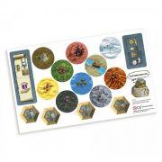 Terra Mystica Expansão Terrenos Especiais Mandala PRM0008