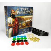 Tigris e Euphrates + Kit de Peças 3D realistas Jogo de Tabuleiro Galapagos TEE001