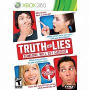 Truth or Lies Someone Will Get Caught Xbox360 Original Novo