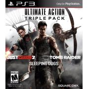 Ultimate Action Triple Pack PS3 Original Novo