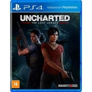 Uncharted The Lost Legacy Playstation 4 Original Usado