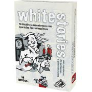 Black Stories Junior White Stories Jogo de Cartas Galapagos BLK201