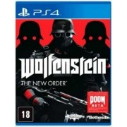 Wolfenstein Playstation 4 Original Usado