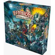Zombicide Green Horde Friends and Foes Expansão de Jogo de Miniaturas Galapagos ZOM205